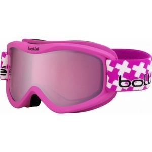 6+ 21362 Bolle Youth Volt Plus Pink Frame Goggles